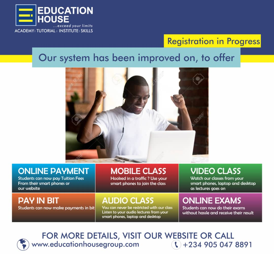 STUDY ONLINE WITH EDUCATION HOUSE